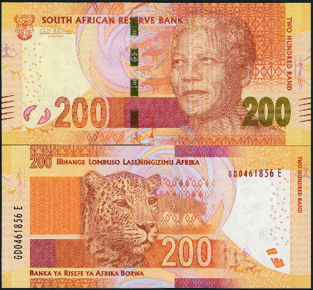 200 rand  (90) UNC Banknote