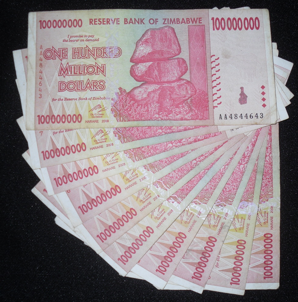 100,000,000 dollars  (50) F Banknote