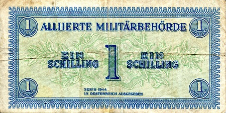 1 schilling  (50) F Banknote