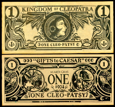1 Cleo-Patsy  (70) EF Banknote