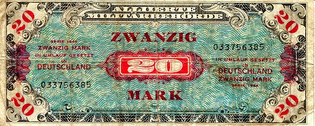 20 mark  (70) EF Banknote