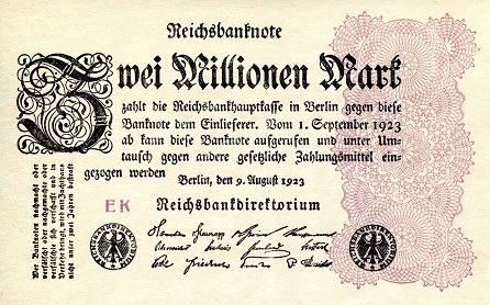 2,000,000 mark  F Banknote