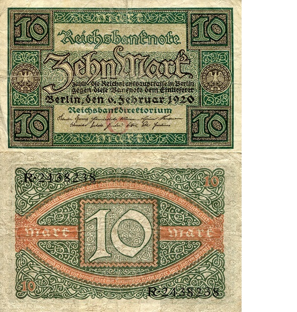 10 mark  (70) EF Banknote