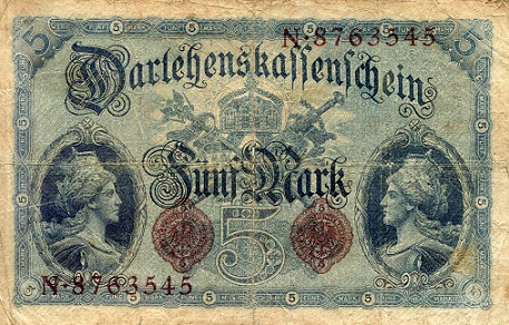 5 mark  F Banknote