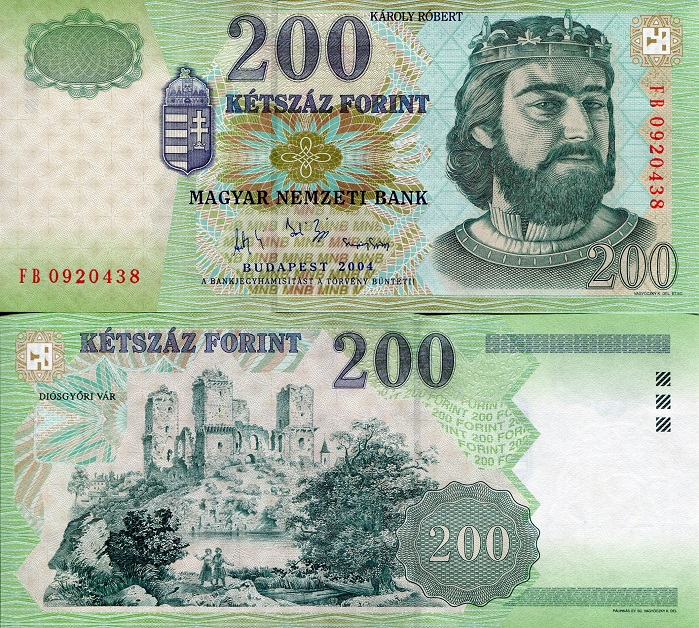 200 forint  (90) UNC Banknote
