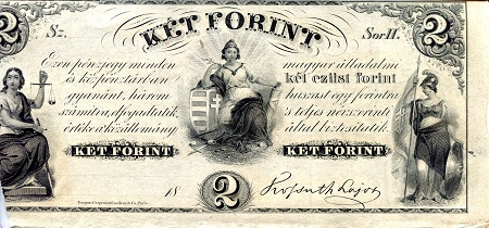 2 forint  (90) UNC Banknote