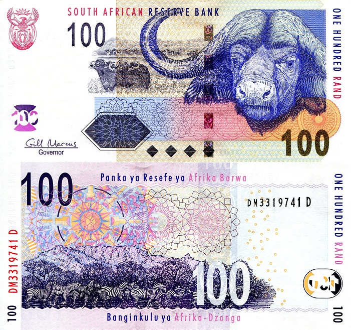 100 rand  (90) UNC Banknote
