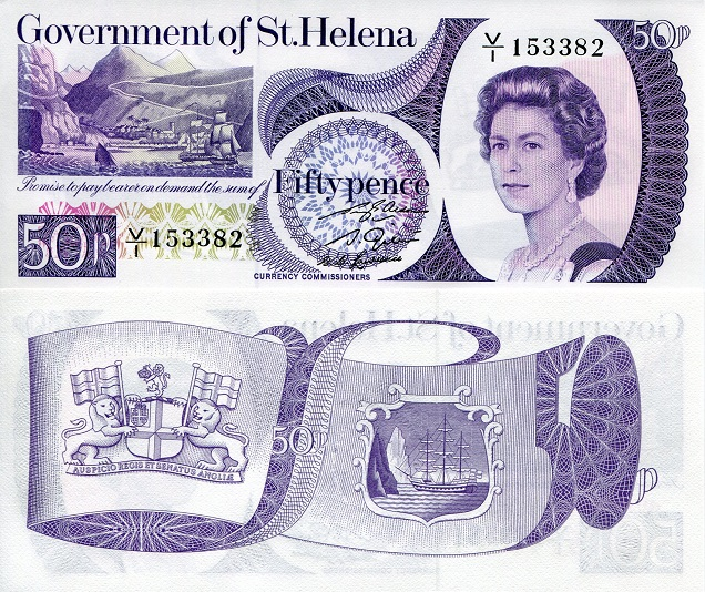 50 pence  (90) UNC Banknote