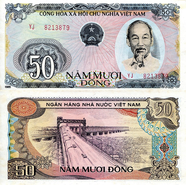 50 dong  (90) UNC Banknote